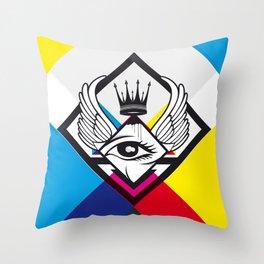 Bigbrother Throw Pillow