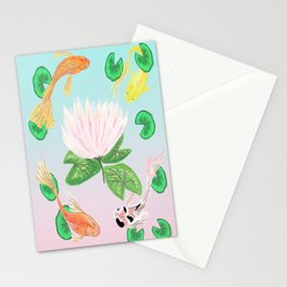 Happy Koi Stationery Cards
