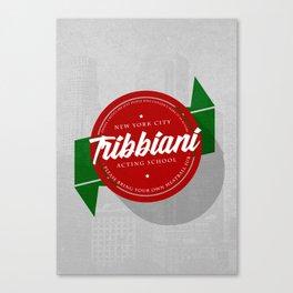 Tribbiani Acting School Canvas Print