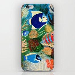 Magnificent sight sea world   Vue magnifique des bas fonds iPhone Skin