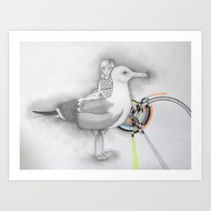 papá Art Print