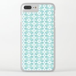 Country floral 1 Clear iPhone Case