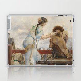 The Hunchback of Notre Dame - Luc-Olivier Merson Laptop & iPad Skin