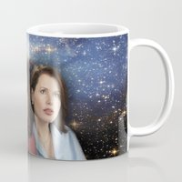 casablanca Mugs featuring THE THREE GREAT LADIES by Kaitlin Smith