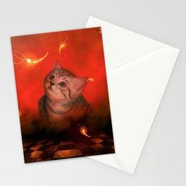 Cute little kitten Stationery Cards