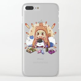 Himouto! Umaru-chan 14 Clear iPhone Case