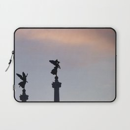 Vittoriano angels at sunset 2 Laptop Sleeve