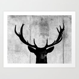 Deer Silhouette Art Prints For Any Decor Style Society6