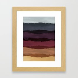 Colors of the Autumn Wind Framed Art Print