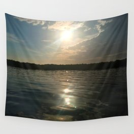 River Sun Wall Tapestry