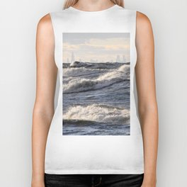 City and Waves Biker Tank