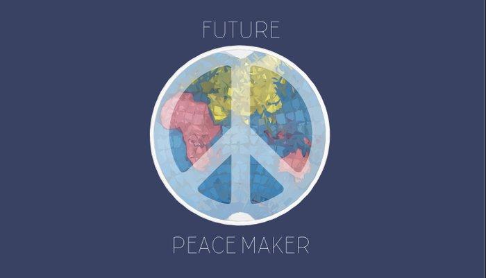 Future Peace Maker Pillow Sham