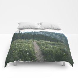 Happy Trails III Comforters
