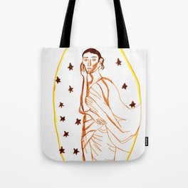 Starry Lady Tote Bag