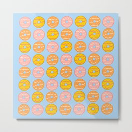 Party Ring Biscuits Metal Print