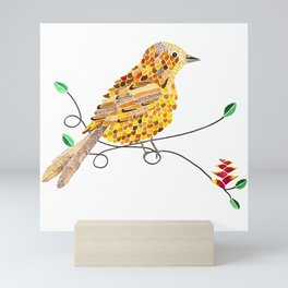 Bird of Costa Rica, yiguirro Mini Art Print