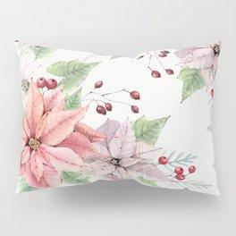 Poinsettia 2 Pillow Sham