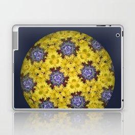 Kaleidoscopic Yellow Laptop & iPad Skin