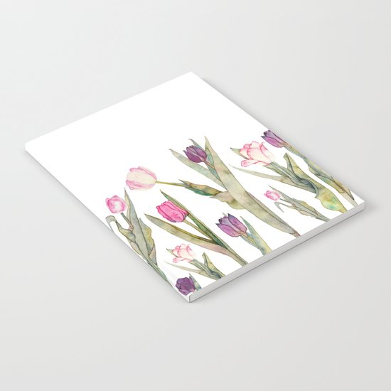 Tulips Notebook