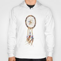 dream catcher Hoodies featuring Dream catcher by North America Symbols and Flags