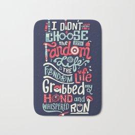 Fandom Life Bath Mat