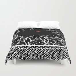 To have faith is to have wings. Duvet Cover