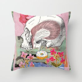 Temporalis Throw Pillow