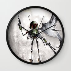 The Fett Wall Clock