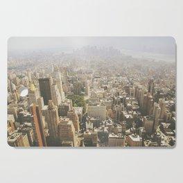 Hazy City - Manhattan Cutting Board