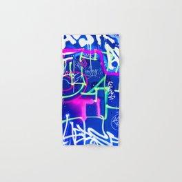 Blue Mood with Pink Language Hand & Bath Towel