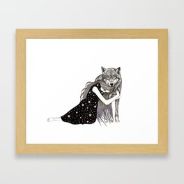 Special Star Framed Art Print