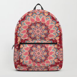 Elegant Paisley Backpack