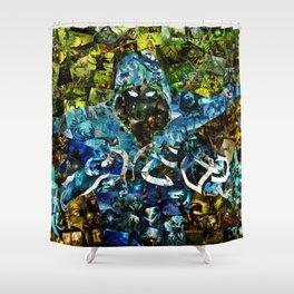 Jace, Mind Mage Shower Curtain