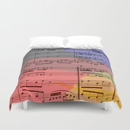 Rainbow Air Duvet Cover