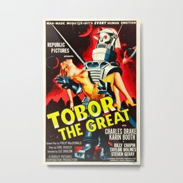 Vintage poster - Tobor the Great Metal Print