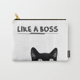 Like a Boss Cat Carry-All Pouch