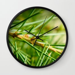 Pine/Fir Tree Wall Clock