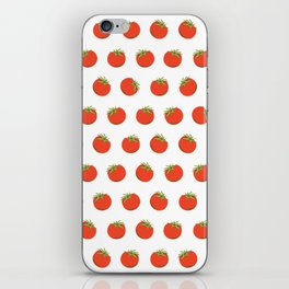 Sweet Red Tomato Picture Pattern iPhone Skin