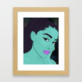 Aliena Granite Framed Art Print