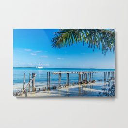From Under the Palms Metal Print