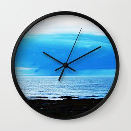 Storm Funnels Above the Sea Wall Clock