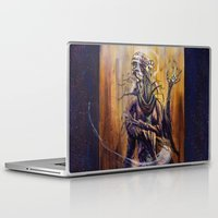 virgo Laptop & iPad Skins featuring VIRGO  by SOMNIVAGRIOUS