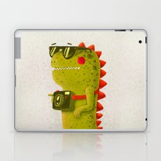 Dino touristo (olive) Laptop & iPad Skin