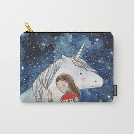 I love unicorns Carry-All Pouch