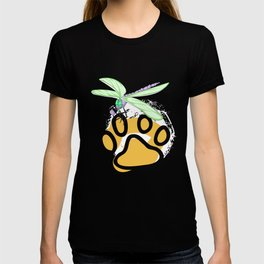 Dragonfly With Paw T-shirt