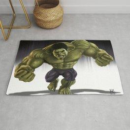 Caricature of Hulk Rug