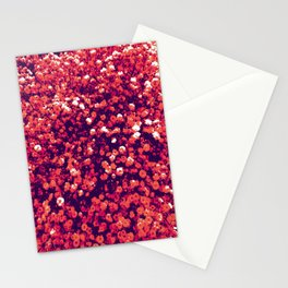 CAMIAB ~ FLOWERS IN YOUR HEAD/PLUM Stationery Cards