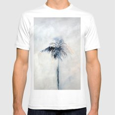 Ghost White Mens Fitted Tee MEDIUM
