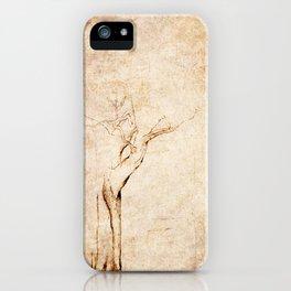 Drawn Tree iPhone Case iPhone Case