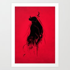 Revenge Of The Toro Art Print